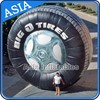 Commercial Use Inflatable Tyre / Wheel Model For Outdoor Business Promotion