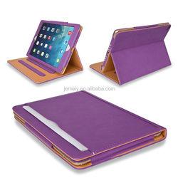 Hotsale File Folder Leather Wallet Smart Tablet Flip PU leather Case For Ipad Air Ipad 5