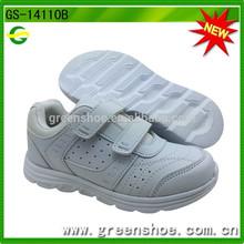 nuevo blanco colegial zapatos