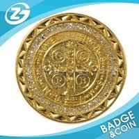God Challenge Coin Logo Metal Religious Gold Coin