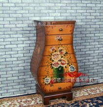 Factory quality goods on sale of direct selling european-style hand-painted multi-function vase ark Eat edge ark Chest of drawer