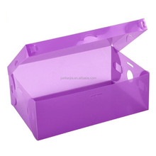 Clear Plastic Used Shoes Storage Transparent big Box Containers for Shoes Closet Organization