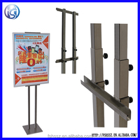 High quality weighted sign base, sign pole base, aluminum sign holder HS-LP11