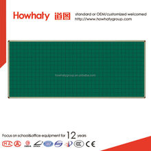 School flexible magnetic Green whiteboard with wheel