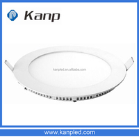 6W Round Recessed Isolated Driver Slim Side Emitting Led Panel Down Light