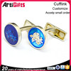 Made in china cufflink backs