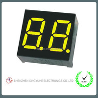 7 segment digital 2 digits number led display board