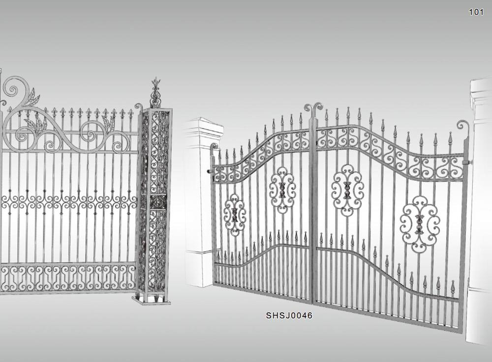 Modern Wrought Iron Front Gate Designs Buy Front Gate