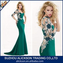 2014 New Sex One Shoulder Mermaid Evening Dress