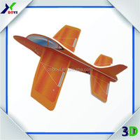 Children small airplan toys 3d foam puzzle
