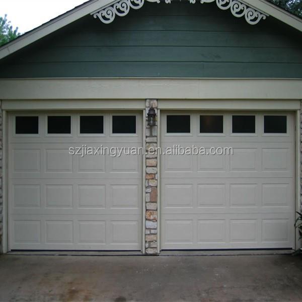 Sectional Garage Door Construction Details : Steel overhead sectional garage door windows that open