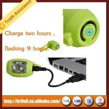 LOGO printing rechargeable bike light