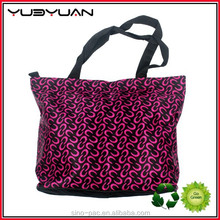 OEM factory customized design fashionable tote shopping bag