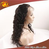 Glueless indian kinky straight half wig bohemian kinky curl wig