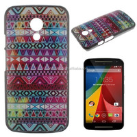 Tribal case back cover for Moto G2, tiger case for Moto G2, plastic case back cover for Moto G2