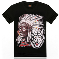 indian tribe custom t shirt printing with ODM 20 year experience