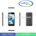 Personalizada RAM 1G OEM ODM MTK6582 super precio 4.4kk androide número de teléfono 4G UE / AM 4LB LB-H502 para Alibaba