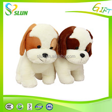 2015 Hot Healthy soft custom plush dog toy animal