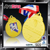 2015 Gold plated metal cheap custom medals no minimum order