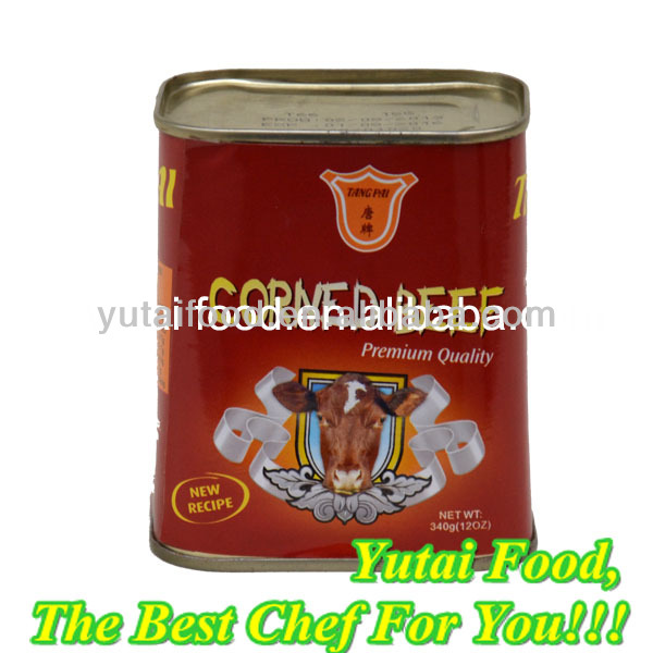 Canned Corned Beef Ready to Eat Good Taste Food