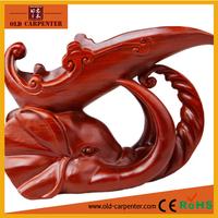 New Creative Rosewood animal sculpture wine rack wooden Elephant