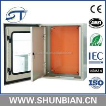 New JXF1 700x500x250 with Plexiglass Door and Inner Door Waterproof Metal Electrical Distribution Cabinet