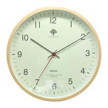 Smoked wood wall clock