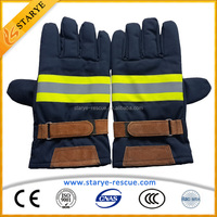 Personal Protective Equipment of Firefighting Used Fire Gloves