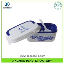 Plastic Bento Lunch Box eco friendly baby food containers