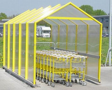 Shopping Trolley shelter