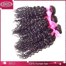 most popular natural looking natural color brazilian curly remy hair