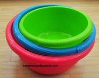 colorful high quality plastic hand wash basin