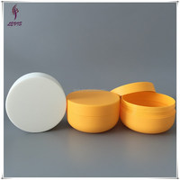 Bowl shape empty plastic 8oz hair care containers