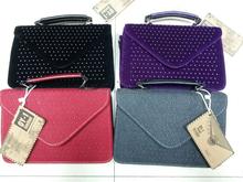 4 colour women bags handbags stock