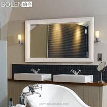 European Modern Decorative Bathroom Wooden Frame Mirror