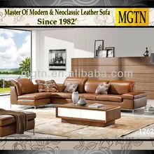 cuero muebles modernos sofá italia 1262