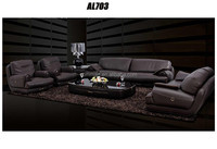 Hot selling luxury comfortable leather sofa furniture