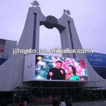 2012 Fashion Stage viewing angle 1R1G1B ph16 outdoor full color led screen wall used led signs sale