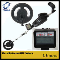 electric metal detector Brand New Power Deep Target Searching Sensitive Metal Detector with LCD System readout (MD-3500)