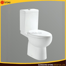 Hot bathroom two piece ceramic wc toilet prices