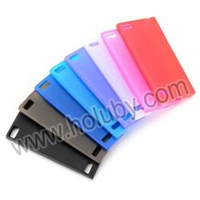 Good Quality Solid Color TPU Case for BlackBerry Z3 Back Cover China Wholesale Case