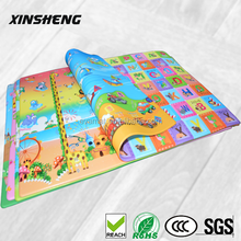2015 Hot sale foldable newborn baby play gym mat with high quality