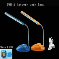 Wholesale items USB and battery operate lamp/ table lamp /USB LED book light