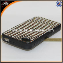 for Iphone 4/4S Knitting Pattern Design Cell Phone tpu Case