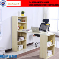 Home furniture bookcase with study table