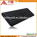 estándar de teclado de la computadora con conexión de cable del teclado con buena calidad