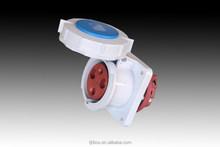 TIBOX 2015 national standard mechanical panel mounted socket IP67 63A Socket&Plug&Connector