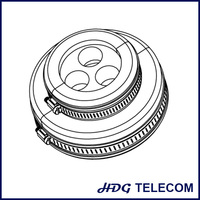 """Feeder boot assembly kits for feeder cable entrance and water proofing, entry port solutions, 3*7/8"""" cable"""