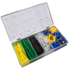 Brass Wire Terminals Kit 308pc Assorted Cable Tie and Brass Wire Terminals
