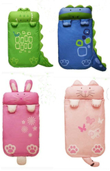 Wholesale alibaba heated plush animal shaped baby sleeping bag
